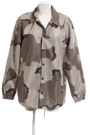 G-Star Raw Regenjas wolwit-bruin camouflageprint casual uitstraling