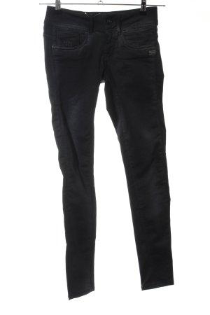 G-Star Raw Pantalon cigarette noir style décontracté