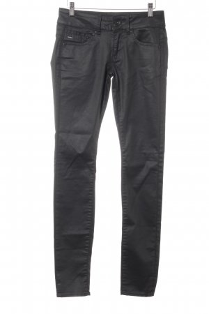 G-Star Raw Pantalón de tubo negro look casual