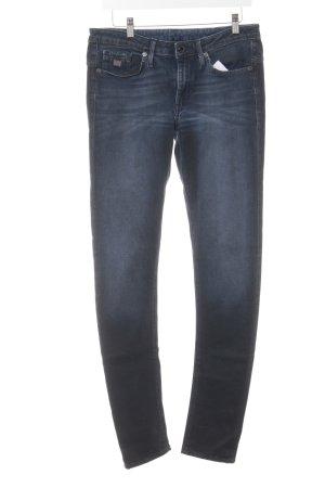G-Star Raw Röhrenjeans blau-schwarz Casual-Look