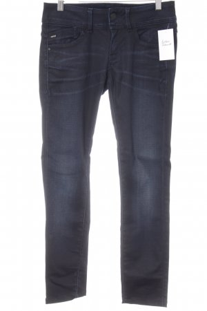 G-Star Raw Röhrenjeans dunkelblau Casual-Look