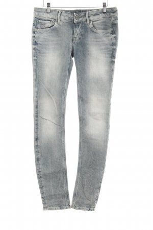 G-Star Raw Röhrenjeans dunkelblau Used-Optik