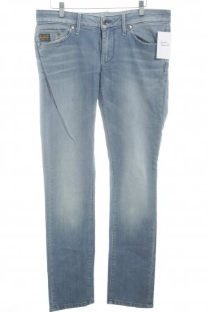 G-Star Raw Vaquero pitillo azul celeste look casual