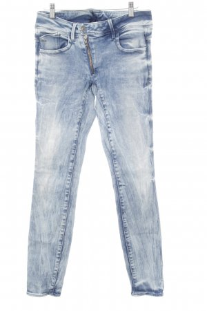 G-Star Raw Röhrenjeans wollweiß-kornblumenblau Used-Optik