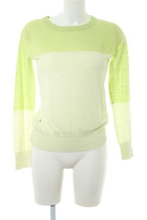 G-Star Raw Jersey de cuello redondo verde pálido-verde claro look casual