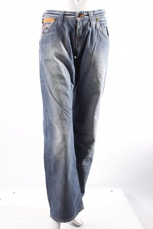 G-Star Raw Schlagjeanshose blau