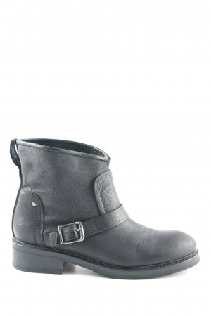 G-Star Raw Slip-on Booties anthracite-black biker look