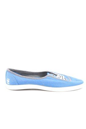 G-Star Raw Veterschoenen blauw-wit casual uitstraling
