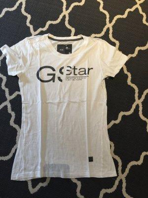 G-Star Raw Shirt weiß schwarz