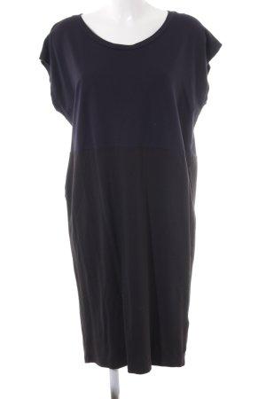 G-Star Raw Shirt Dress black-dark blue color blocking casual look
