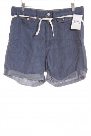 G-Star Raw Shorts stahlblau Boyfriend-Look