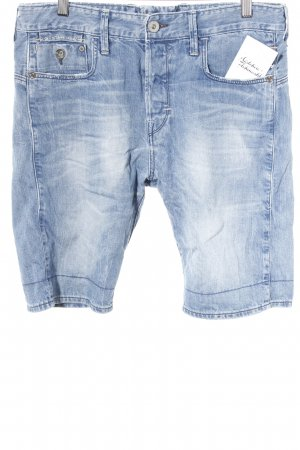 G-Star Raw Shorts stahlblau Street-Fashion-Look