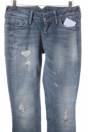 G-Star Raw Skinny Jeans blassblau-graublau Casual-Look