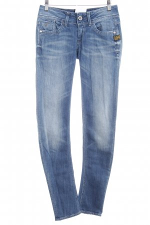 G-Star Raw Skinny Jeans blassblau-stahlblau Washed-Optik
