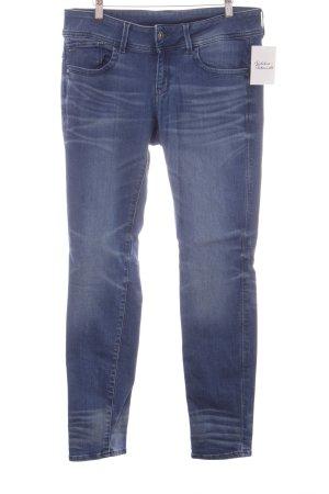 G-Star Raw Skinny Jeans blau Bleached-Optik