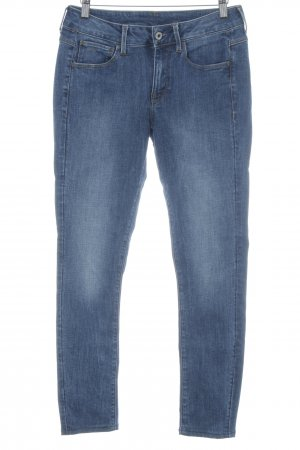 G-Star Raw Skinny Jeans blau Casual-Look
