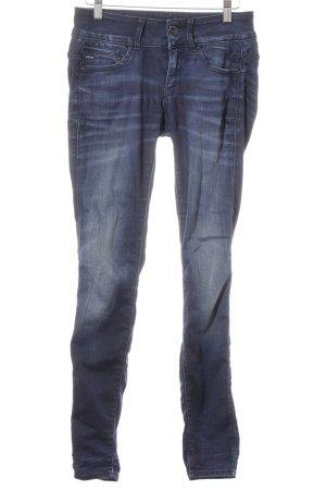 G-Star Raw Skinny Jeans blau-dunkelblau Casual-Look