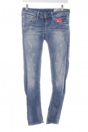 G-Star Raw Skinny Jeans blau Used-Optik