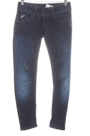 G-Star Raw Skinny Jeans dunkelblau Casual-Look