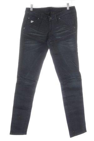 G-Star Raw Skinny Jeans dunkelblau-graublau Casual-Look