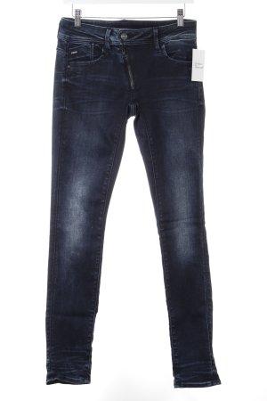G-Star Raw Skinny Jeans dunkelblau schlichter Stil