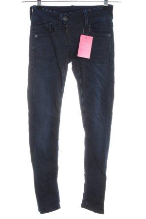 G-Star Raw Skinny Jeans dunkelblau-stahlblau Casual-Look