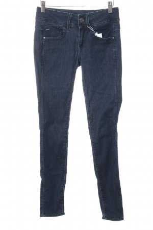 G-Star Raw Skinny Jeans dunkelblau Street-Fashion-Look