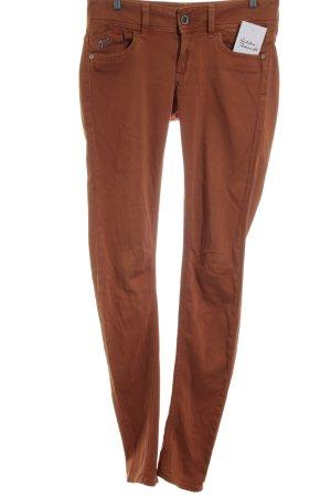 G-Star Raw Skinny Jeans dunkelorange Casual-Look