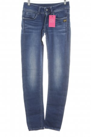 G-Star Raw Skinny Jeans neonblau Casual-Look