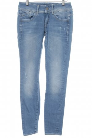 G-Star Raw Skinny Jeans kornblumenblau Casual-Look