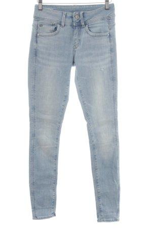 """G-Star Raw Skinny Jeans """"LYNN"""" himmelblau"""