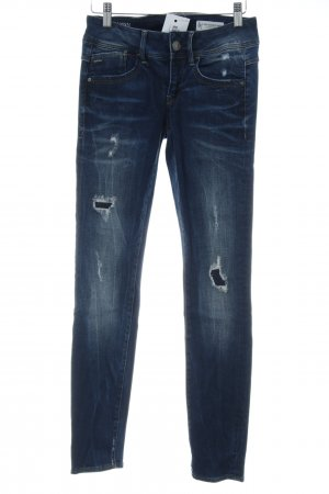 G-Star Raw Skinny Jeans mehrfarbig Used-Optik