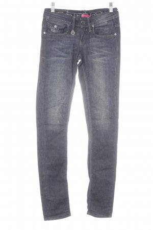 G-Star Raw Skinny Jeans Schriftzug gedruckt sportlicher Stil