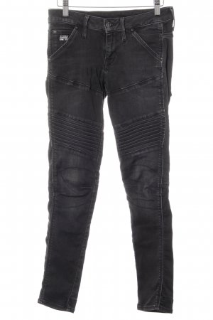 G-Star Raw Skinny Jeans schwarz-anthrazit Casual-Look