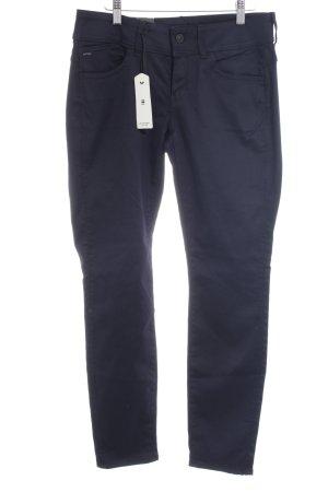 G-Star Raw Skinny Jeans schwarz-dunkelblau schlichter Stil