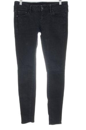 G-Star Raw Skinny Jeans schwarz Street-Fashion-Look