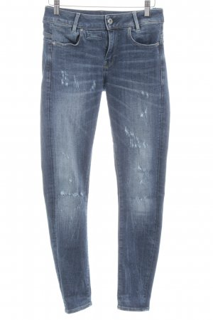 G-Star Raw Skinny Jeans stahlblau Casual-Look