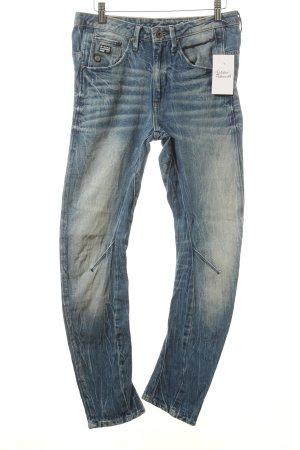 G-Star Raw Skinny Jeans stahlblau Used-Optik