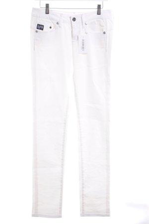 G-Star Raw Skinny Jeans weiß Casual-Look