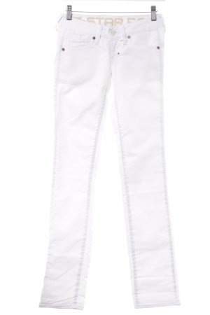 G-Star Raw Skinny Jeans weiß Casual-Look