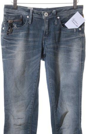 G-Star Raw Slim Jeans blassblau-graublau Casual-Look