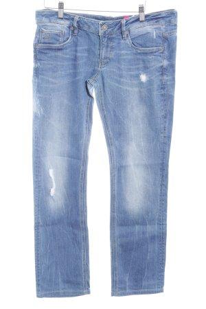G-Star Raw Slim Jeans blau Bleached-Optik