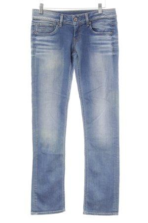 G-Star Raw Slim Jeans blau-bronzefarben Casual-Look