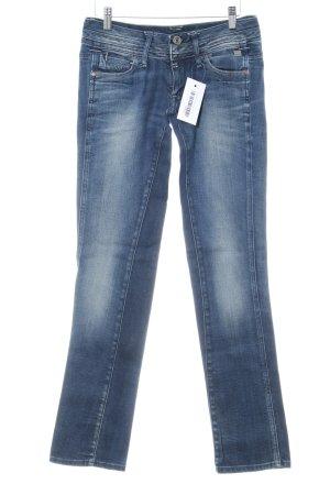 G-Star Raw Slim Jeans blau Used-Optik
