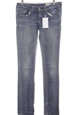 G-Star Raw Slim Jeans blau Washed-Optik