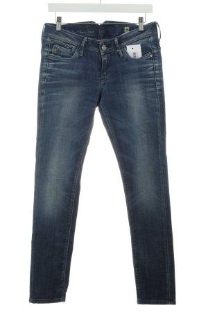 G-Star Raw Jeans slim bleu foncé lavage à l'acide