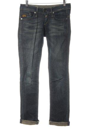 G-Star Raw Slim Jeans dunkelblau Casual-Look