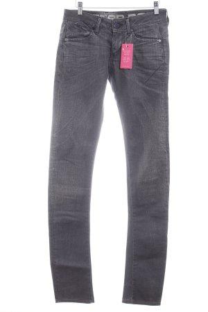 G-Star Raw Slim Jeans dunkelgrau Washed-Optik