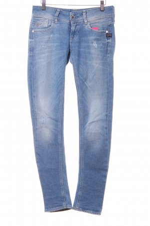 G-Star Raw Slim Jeans himmelblau-kornblumenblau meliert Casual-Look