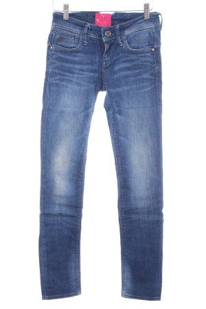 G-Star Raw Slim Jeans mehrfarbig Used-Optik